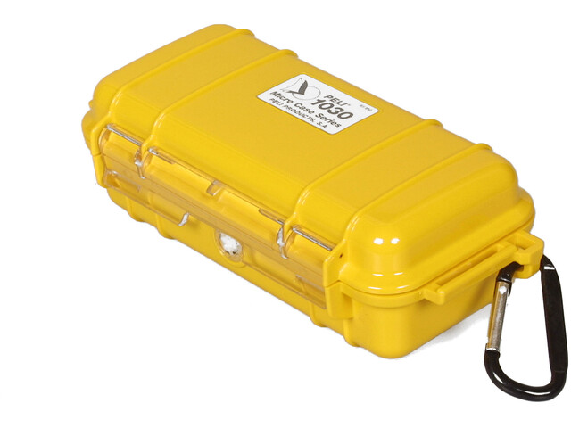 Peli MicroCase 1030, yellow